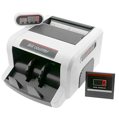PrimeMatik - Banknotenzähler mit Doppelanzeige und Echtheitskontrolle UV MG1 MG2