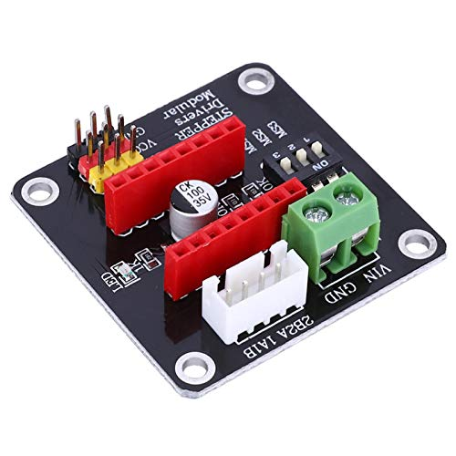 LANTRO JS - 42 Stepper Motor Driver Expansion Board DRV8825/A4988 Control Shield for 3D Printer