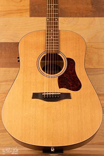 Seagull S6 Original Slim QIT Acoustic Guitar, Rosewood Fingerboard, Semi-Gloss