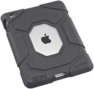 Devicewear Station Protective Drop Resistant Heavy Duty Case for iPad 2/3/4, Black (STA-IP3-BLK)