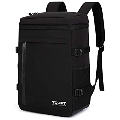 TOURIT Cooler Backpack 32 Cans Large Capacity Insulated Backpack Cooler Bag for Men Women to Picnic, Hiking, Camping, Fishing