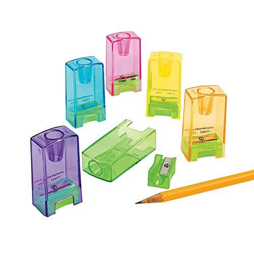 NEON Pencil/Crayon SHARPENER-2DZ - Stationery - 24 Pieces