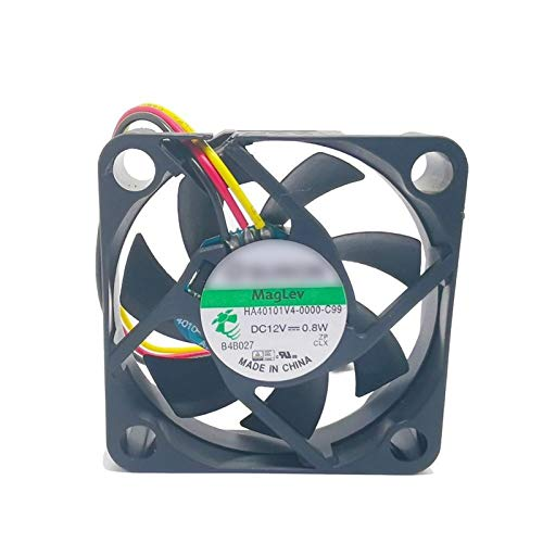 OLDJTK Sunon Enfriamiento Ventilador HA40101V4-0000-C99 4010 40mm 4 cm 40 * 40 * 10 12V 0.8W 0.06A 0.06A 3pin Support Velocimetry