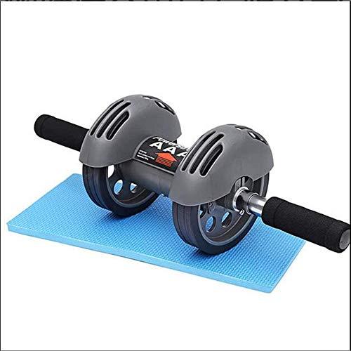 Lunch AB Wheels, AB Roller Wheel,Bauchtrainer für Bauchmuskeln mit Dicker Matte für die Knie,Fitness Wheel für Twin Wheels zum Trainieren von Bauchmuskeln, Rücken & Schultern