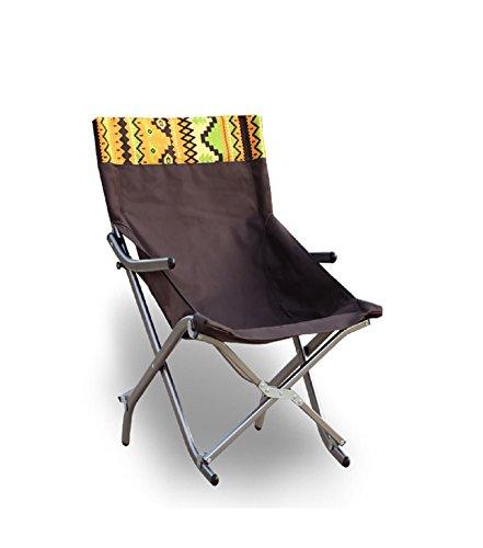 GAOJIAN Chaise pliante à alliage d'aluminium ultra léger Accueil Chaise d'après-midi portable Chaise longue de bureau Chaise de pêche de loisirs en plein air