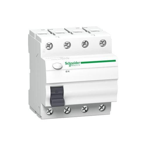 Schneider Electric A9Z05440 ID K, Interruptor Diferencial, Clase AC, 4P, 40A, 30mA, 68mm x 72mm x 81mm, Blanco