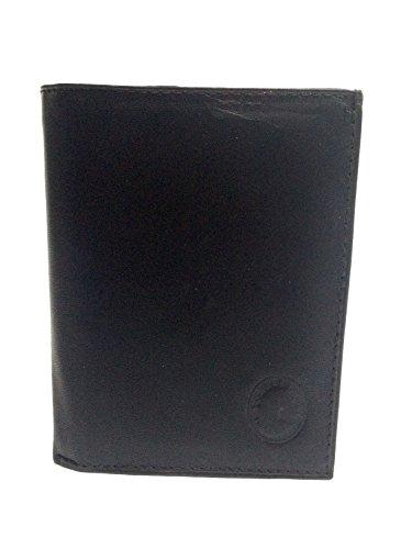 YOJAN PIEL - Cartera de Cuero Fabricada en Piel de Ubrique (Color Negro) | Complementos de Moda Para Hombre de Estilo Atemporal y Diseño Elegante | Regalos Exclusivos y Originales