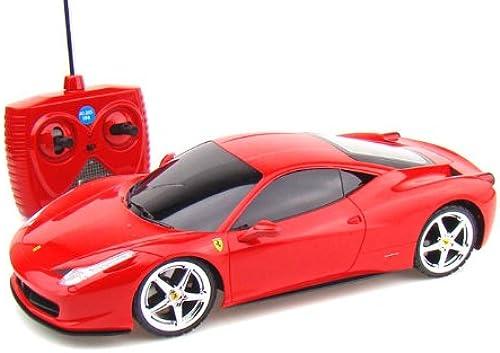 Radio Control Ferrari 458 Italia 1 18 rot
