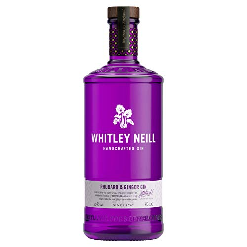 Whitley Neill Rhubarb & Ginger Ginebra - 700 ml
