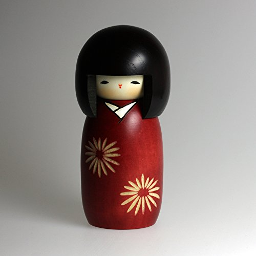"Kokeshi-Figur UK-6-32 ""Nogiku"" aus Japan"