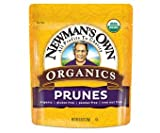 Newman's Own Organics California Prunes, (Pack of 2) 12-Ounce Pouches