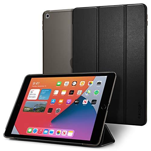 Spigen Smart Fold Kompatibel mit iPad 10.2, iPad 8. Generation Hülle (2020) / iPad 7. Generation Hülle (2019) - Schwarz