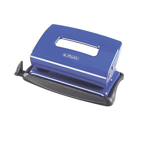 Pelikan 8757353 - Perforadora de oficina ergonómica, 1.2 mm, color azul