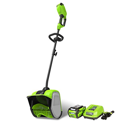 GreenWorks 2600702 G-MAX 40V 12-Inch Cordless Snow Shovel 4Ah Battery and Charger Included
