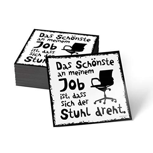 how about tee Das Schönste an Meinem Job ist, DASS Sich der Stuhl dreht - Kühlschrank- / Whiteboard-Magnet