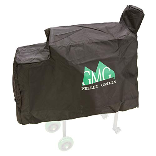 Green Mountain Grills 3001 Daniel Boone Outdoor BBQ Grill Protective Heavy-Duty Weather-Resistant Canvas Cover, Black