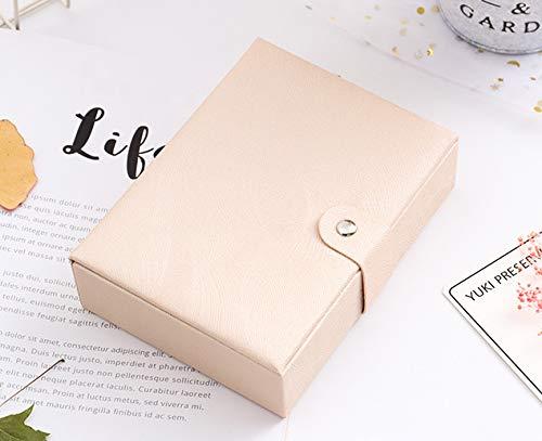 MyWheelieBin Magnetische Schnalle Schmuckschatulle Schmuck Lippenstift Aufbewahrungsbox Tragbare Kosmetikkoffer Nackte Fans (14,6 * 11 * 4)
