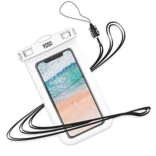 防水ケース スマホ用 Android 携帯 に対応 IPX8 水中 撮影 タッチ可 指紋 顔認証 風呂 水泳 釣り 海 プール 旅行 雨…