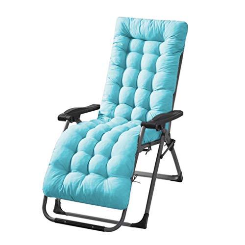 #N/A Sawyerda - Cojín de repuesto para tumbona reclinable, accesorio para jardín, terraza, color azul claro, S