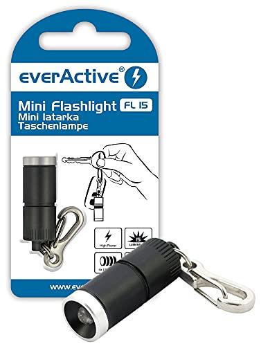 everActive FL15-C, Unisex Adulto, Negro, 34,9 x 12,6mm