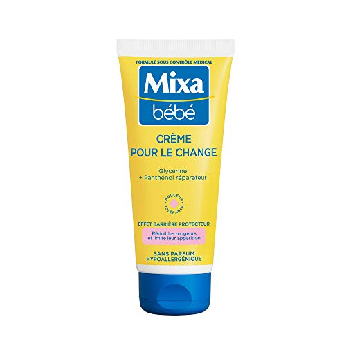 Mixa Bébé Crème pour le Change, 100 ml