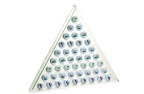 Silverline Golfballregal aus Acryl für Golfballsammler,transparent, 58 x 50 x 5 cm