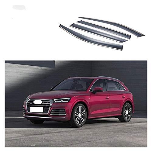 LWLD Windabweiser Für Audi Q5 SQ5 2018-2020 Fenster Visier Auto Rain Shield Deflectors Markise Abdeckung Abdeckung Außenbereich Auto-Styling Autofenster Visier