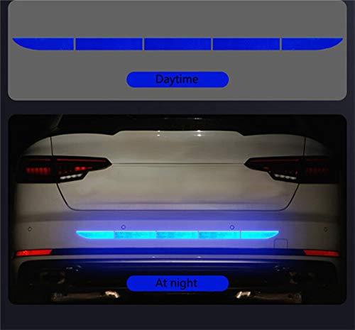 Pegatinas de coches, Etiqueta engomada del coche Advertencia en el cuerpo del cuerpo Tronco Exterior Auto Accesorios de automóviles Nano Coche Etiqueta reflectante Pegatina de advertencia Trailera de