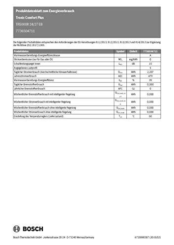 Bosch TR5000R 24/27 EB