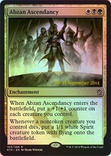 Magic The Gathering - Abzan Ascendancy (160/269) - Prerelease & Release Promos - Foil