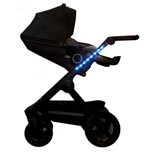 Strollbright LED Lights for Strollers - Walking Light for Strollers - Long Lasting LED Safety Light for Baby Strollers