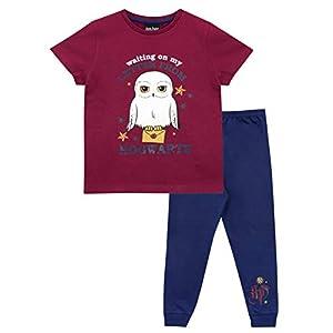 HARRY POTTER Pijamas de Manga Corta para niñas Hedwig 4