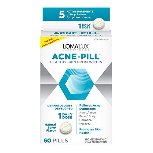 Acne Pill - All Natural Skin Clearing Minerals - Dermatologist Developed For All Types of Acne & Rosacea