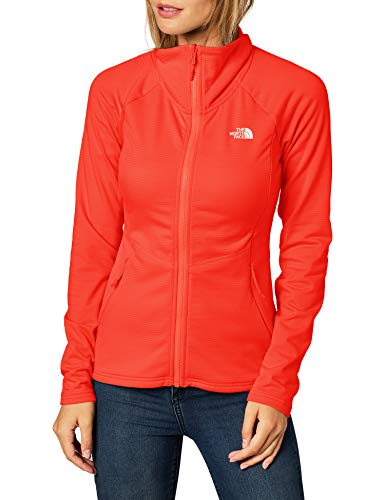 THE NORTH FACE - Women's Quest Grid Midlayer - Fleecejacke Gr M rot