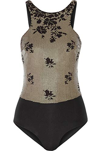 La Perla Black Sequin Ombre Onepiece Swimsuit 8