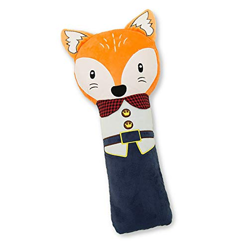 Xiton 1pc Voiture Seat Ceinture Oreiller Mignon PoupéE SièGe Voiture SéCurité Coussin Toy Sangle Ceinture Couverture Pad Coussin RéGlable Pour SièGe Ceinture De SéCurité Enfants (Fox)