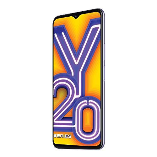 Vivo Y20i (Dawn White, 3GB RAM, 64GB Storage) with No Cost EMI/Additional Exchange Offers