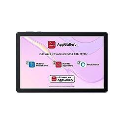 La HUAWEI MatePad T 10s utilise l'interface EMUI et les Huawei Mobile Services (HMS). Cela signifie que les services et applications Google ne sont pas intégrés au HUAWEI MatePad T 10s.Cependant, la HUAWEI Matepad T 10s a accès à de nombreuses applic...