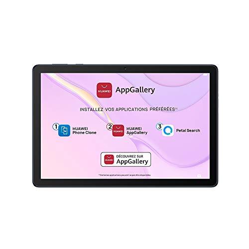 "HUAWEI MatePad T 10s Wi-Fi Tablette, Ecran FHD de 10.1"", Processeur Kirin 710A, 3Go RAM, 64Go ROM, Double Haut-parleur, EMUI 10.1 & AppGallery, Deepsea Blue"