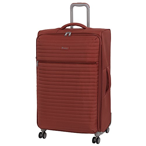 it luggage Quilte 8 Wheel Lightweight Semi Expander Suitcase Large koffer, 80 cm