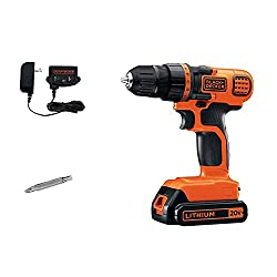 Top Rated Cordless Drill with Black & Decker 20
