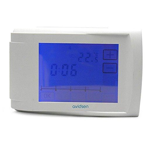 Avidsen 103763 - Termostato digital con pantalla táctil