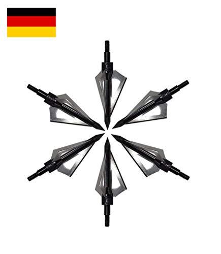 molinoRC 3X Stone Jagdspitze Armbrust BRD Turnier Jagd Recurve Compound Bogen Pfeilspitzen Pfeilspitze