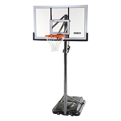 Lifetime 71522 Competition XL Portable Basketball System, 54 Inch...