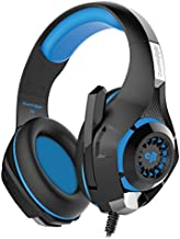 Cosmic Byte GS410 Headphones with Mic and for PS4 Xbox One Laptop PC iPhone and Android Phones Black Blue