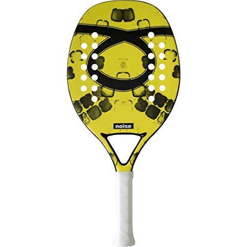 Tom Outride Racchetta Beach Tennis Racket Noise Yellow 2019 Senza Custodia