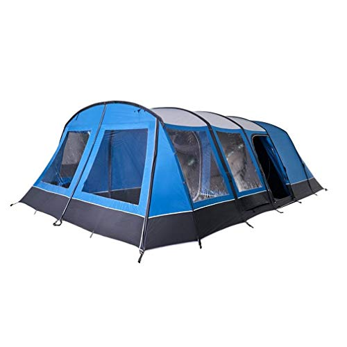 Vango Casa Air Lux Easy To Pitch 7 Person Family Tent, Blue, One Size