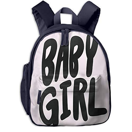 Kinderrucksack Glückwunsch, es ist Baby Girl, Schulrucksack Für Mädchen Und Jungen Schultasche Schulranzen Teenager Backpack Daypack Freizeitrucksack Kinder Rucksack