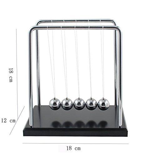Tian 60 Segundos Swing Pendulo de Newton Grande 18*12*18cm (L*W*H)