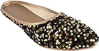 Galaxy Foot Craft Women KHILONA Belly Sitara- Gold (SN16)
